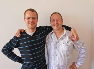 Tomáš Sadílek a David Smolak, specialisté na prodej zahrady.