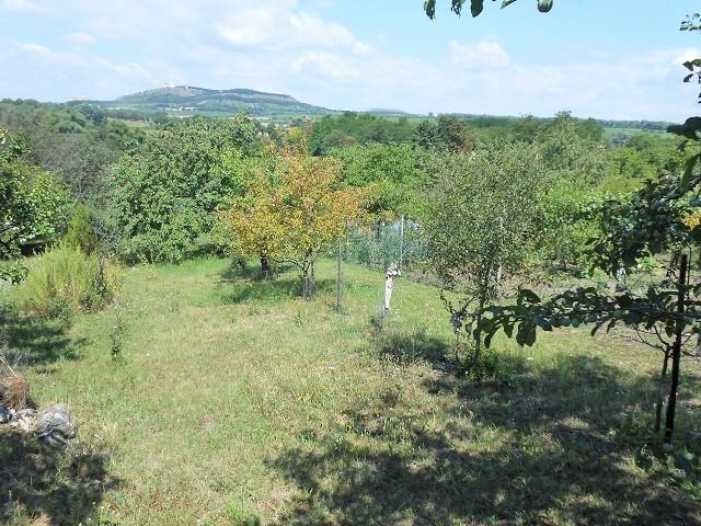 Výhled na Pálavu zleva zhora