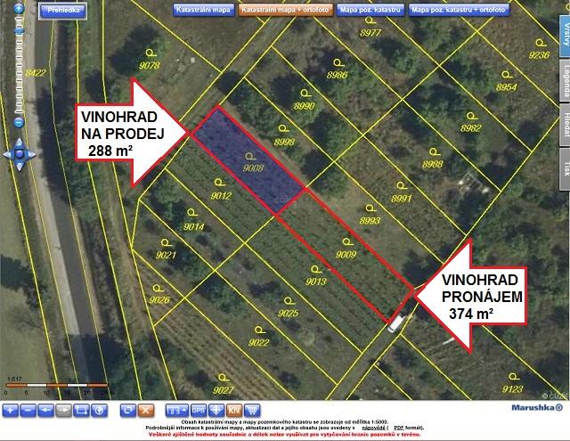 Ortofoto mapa z KN